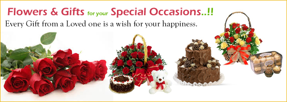Send Flowers And Cake To India From Canada